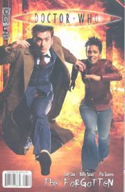 Doctor Who The Forgotten #4 Retail Incentive Variant (2008) Dr David Tennant IDW Publishing comic book